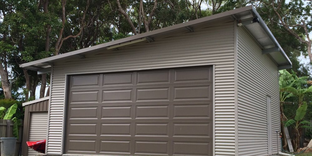 Skillion Sheds Individually Designed Competitively Priced